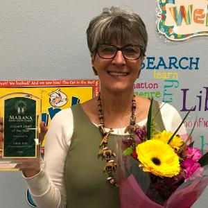 IMAGE:  2020 MUSD Support Staff of the Year: Linda Bell