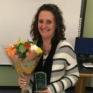 IMAGE:  2020 MUSD Administrator of the Year: Kristina Brewer