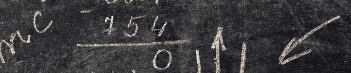 IMAGE: Mathematics on chalkboard.