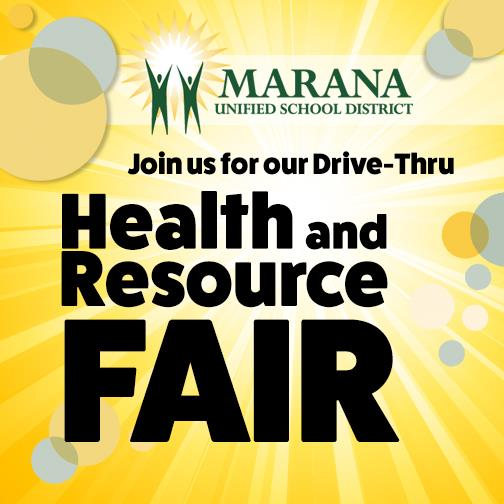 Join us for our Drive-Thru Health & Resource Fair