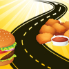 Burger and Chicken Nuggets on Road