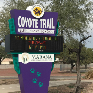 IMAGE: Coyote Trail Digital Maquee.