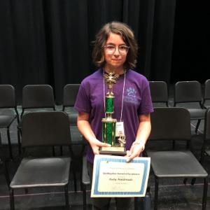 IMAGE: Ruby Maldonado, 2nd Place
